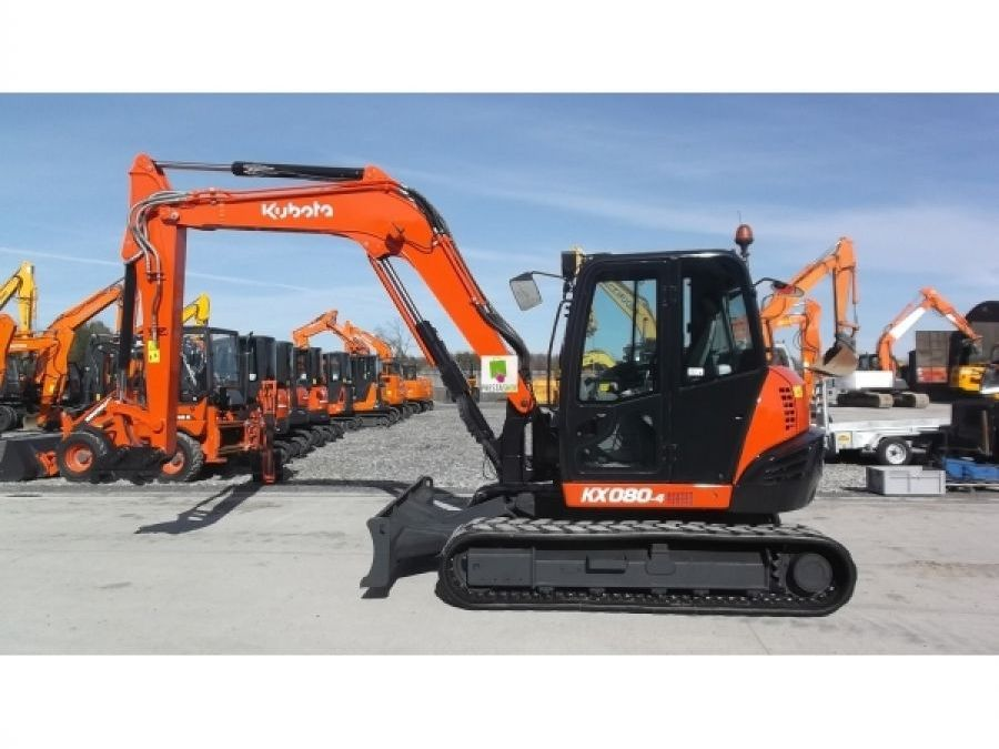 Used Excavator 2015 Kubota KX080 for Sale - 1
