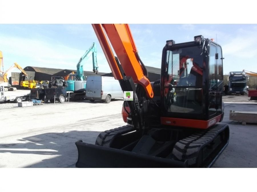 Used Excavator 2015 Kubota KX080 for Sale - 3