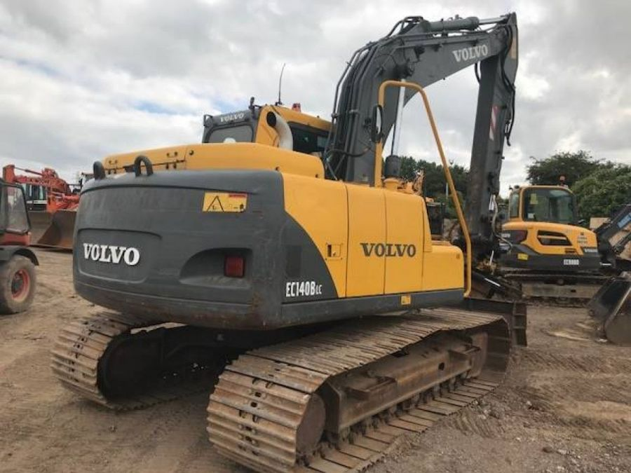 Used Excavator 2003 Volvo EC140B for Sale - 4