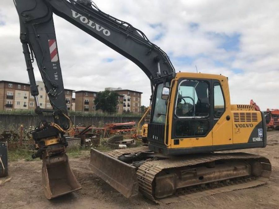 Used Excavator 2003 Volvo EC140B for Sale - 2