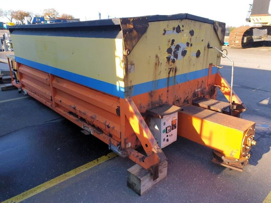 Used Asphalt Container 2009 ATC 100 - Asphalt Thermo Container - Pothole fill machine for Sale - 1