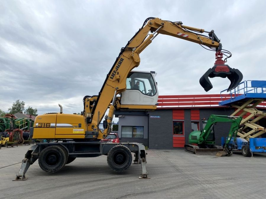 Used Excavator 2007 Liebherr 309 Litronic for Sale - 2 - Thumbnail