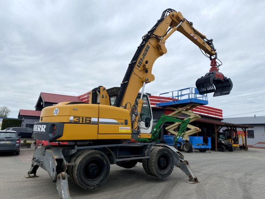 Used Excavator 2007 Liebherr 309 Litronic for Sale - 3 - Thumbnail