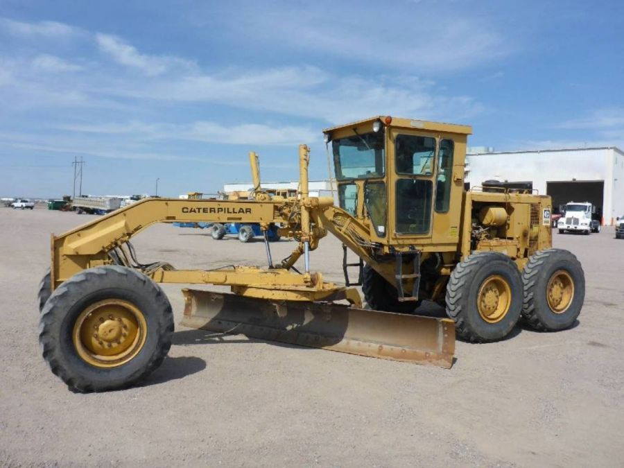 Used Grader 1984 Caterpillar 140 for Sale - 1