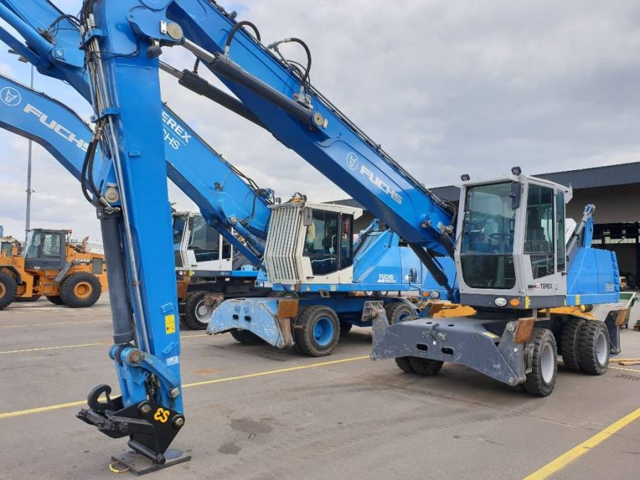 Used Material Handler 2015 Fuchs MHL 331E for Sale - 4
