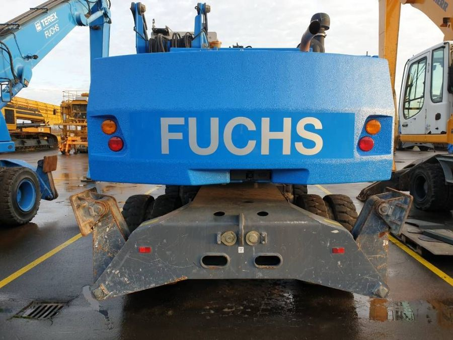 Used Material Handler 2015 Fuchs MHL 331E for Sale - 6