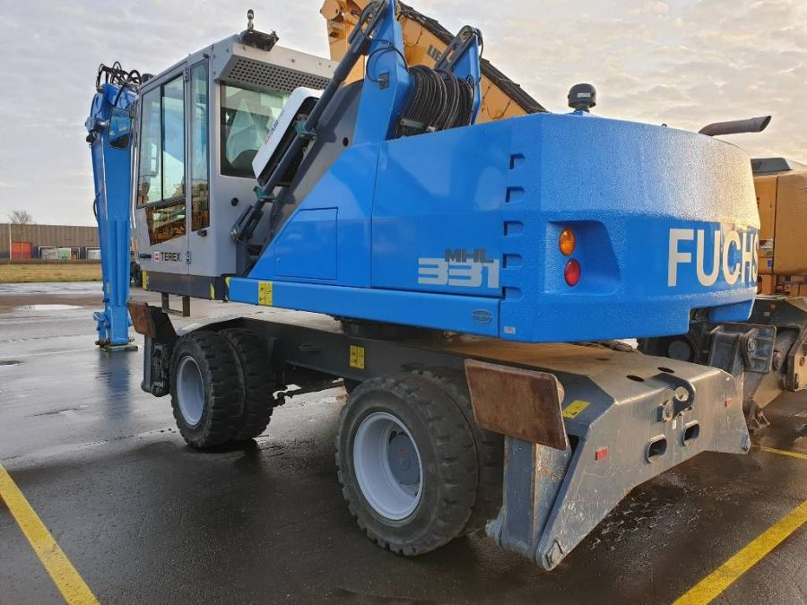 Used Material Handler 2015 Fuchs MHL 331E for Sale - 2