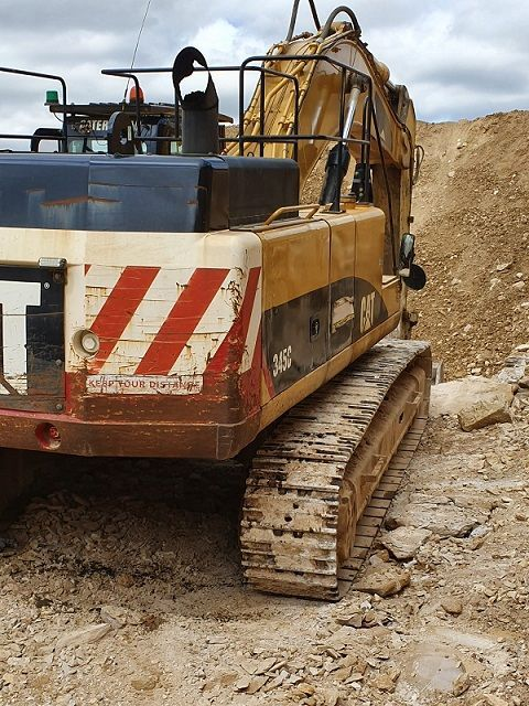 Used Excavator 2007 Caterpillar 345C for Sale - 2 - Thumbnail