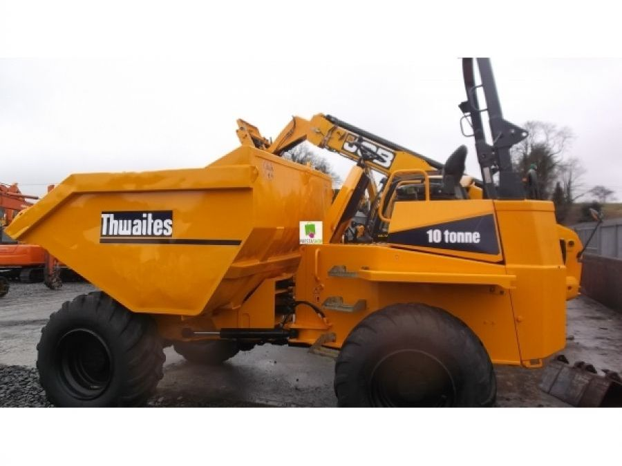 Used Dump Truck 2012 Thwaites 10 T for Sale - 1