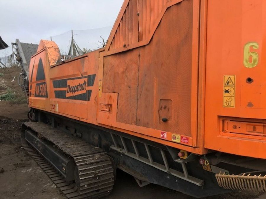 Used High Speed Shredder / Grinder 2015 Doppstadt AK 510 K for Sale - 1