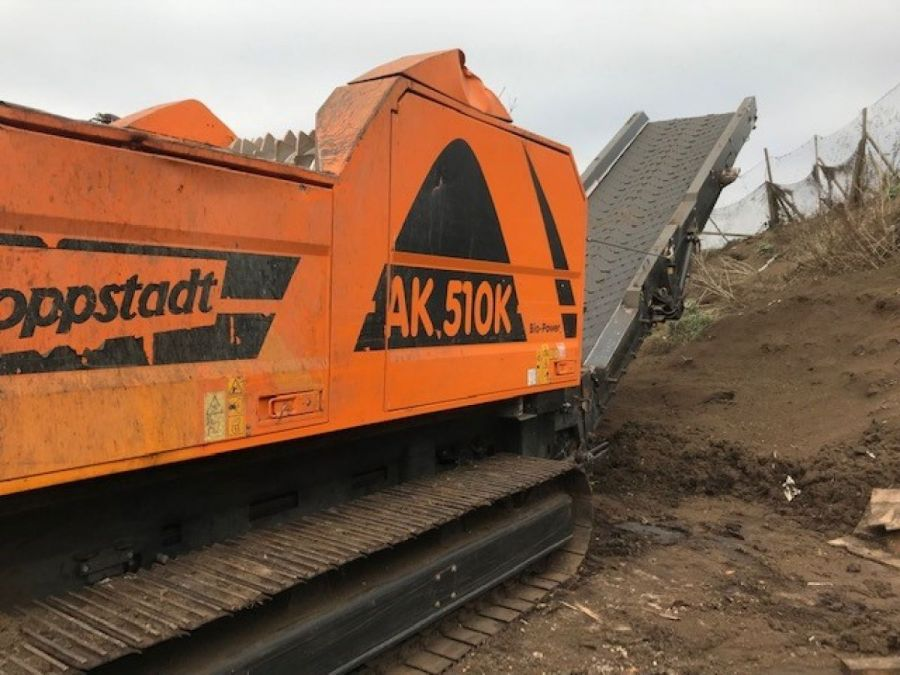 Used High Speed Shredder / Grinder 2015 Doppstadt AK 510 K for Sale - 3