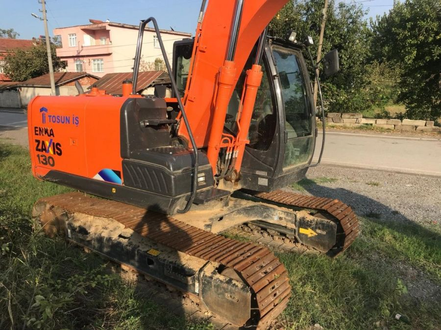 Used Excavator 2017 Hitachi ZX130LCN for Sale - 3