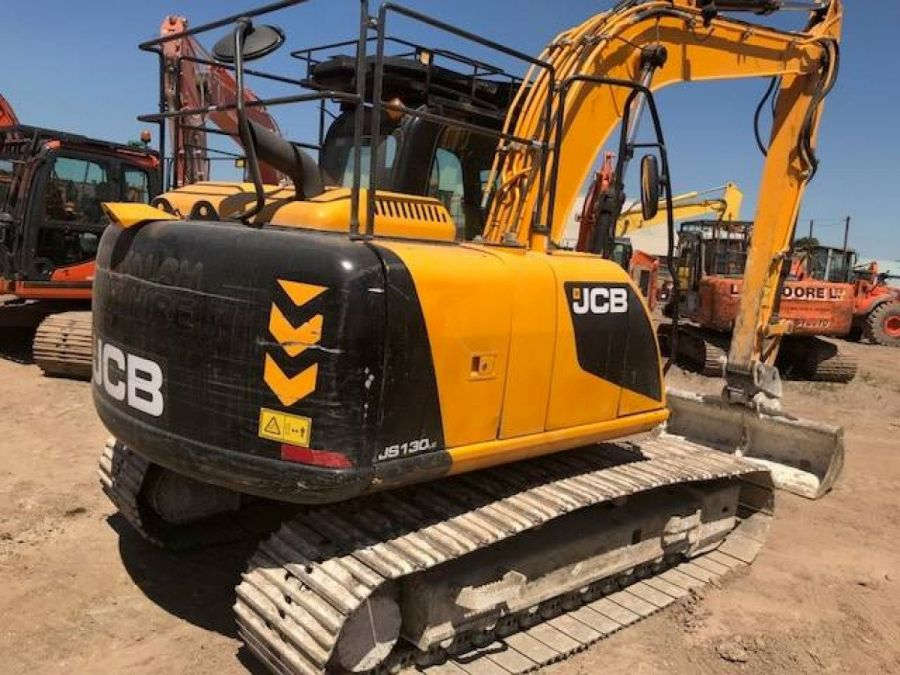 Used Excavator 2013 JCB JS 130 for Sale - 3 - Thumbnail
