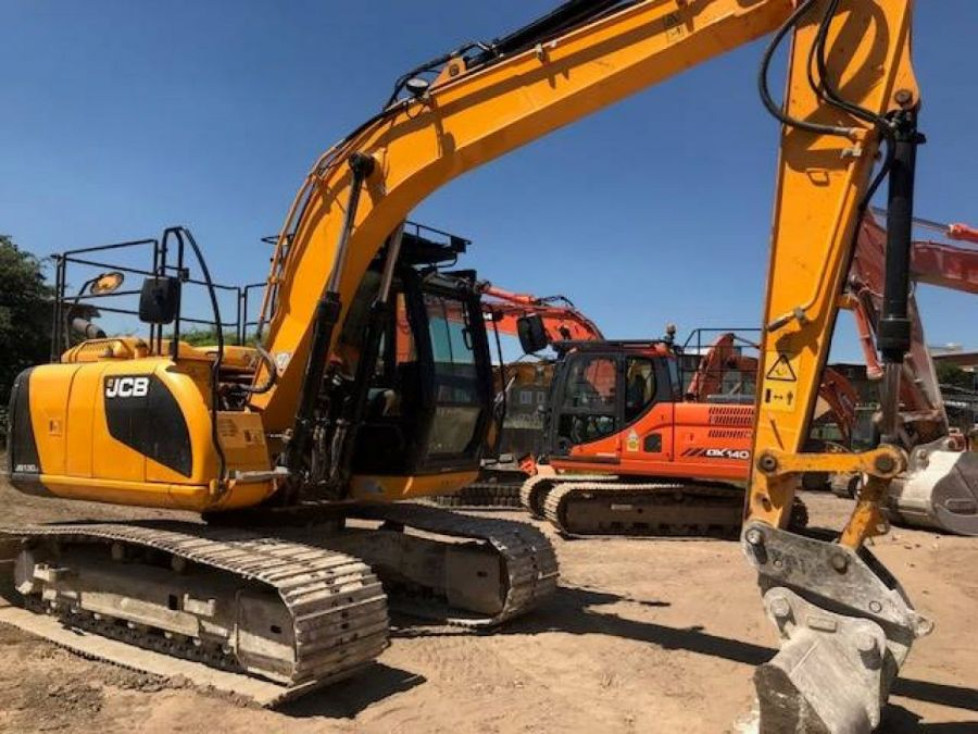 Used Excavator 2013 JCB JS 130 for Sale - 1 - Thumbnail