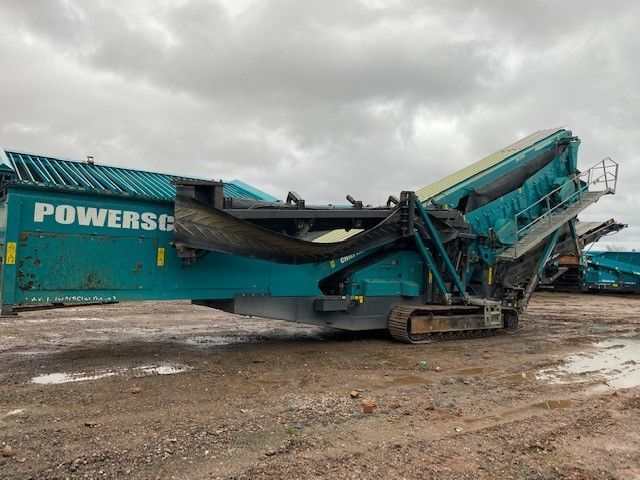 Used Screener 2015 Powerscreen Chieftain 2200 3 Deck for Sale - 4