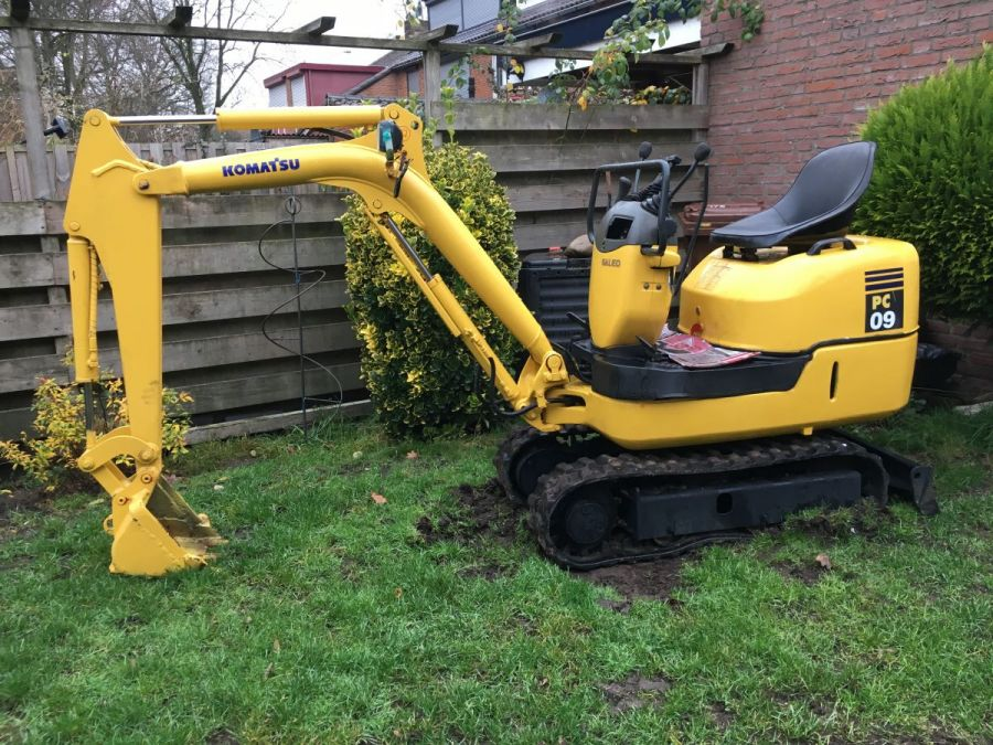 Used Excavator 2004 Komatsu PC09-1 for Sale - 2