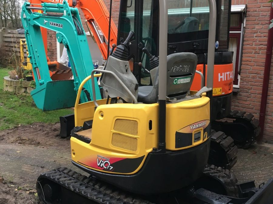 Used Excavator 2008 Yanmar Vio 17 for Sale - 2