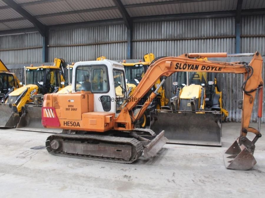 Used Excavator 1998 Halla HE50A for Sale - 3