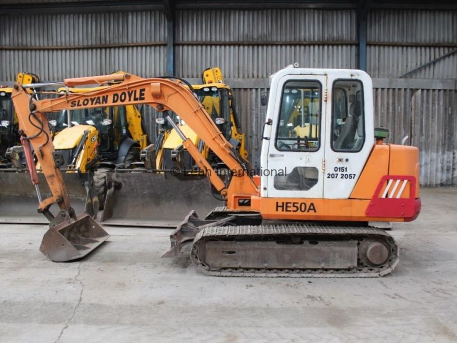 Used Excavator 1998 Halla HE50A for Sale - 1