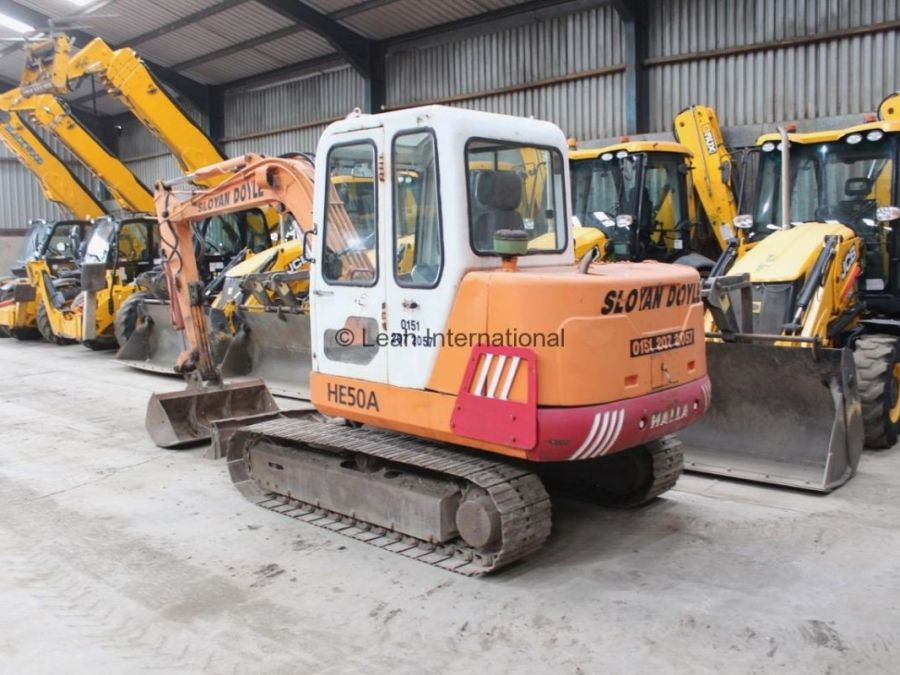 Used Excavator 1998 Halla HE50A for Sale - 2