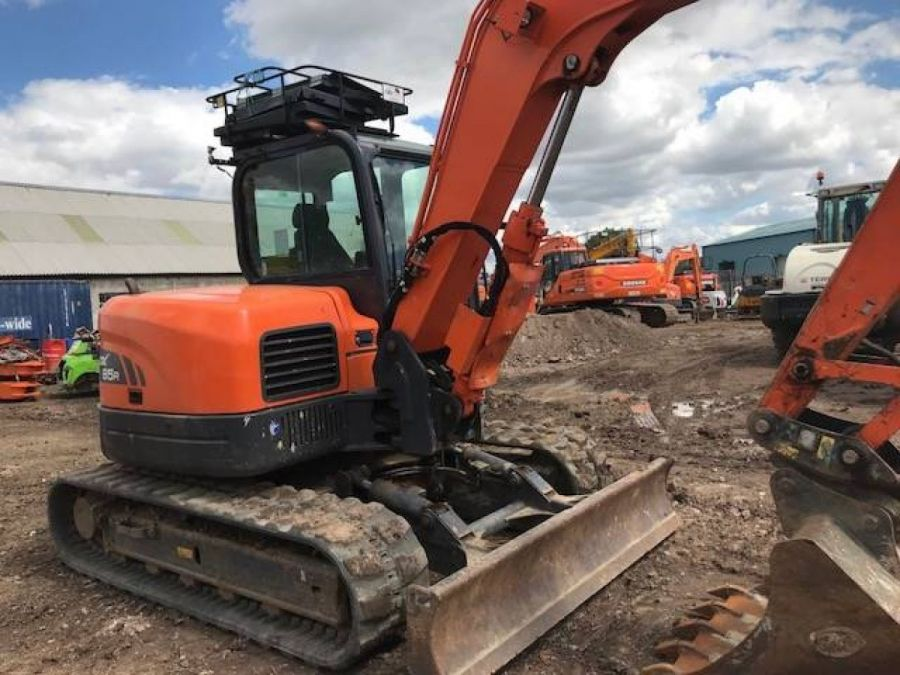 Used Excavator 2015 Doosan DX85R for Sale - 4