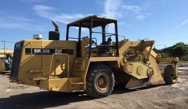 Used Grader 1994 Caterpillar RM-350B for Sale - 4