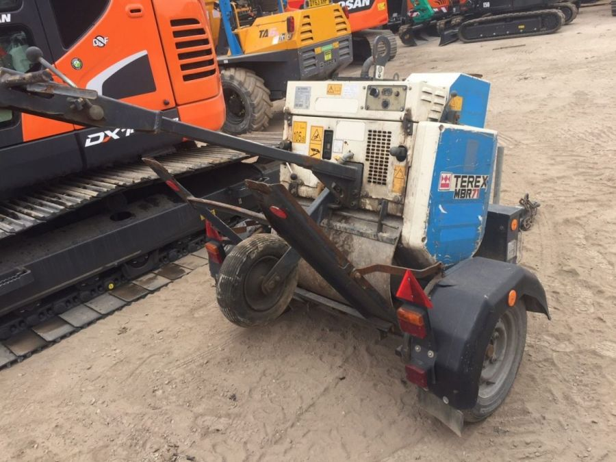 Used Roller 2015 Terex MBR71 & Trailer for Sale - 1