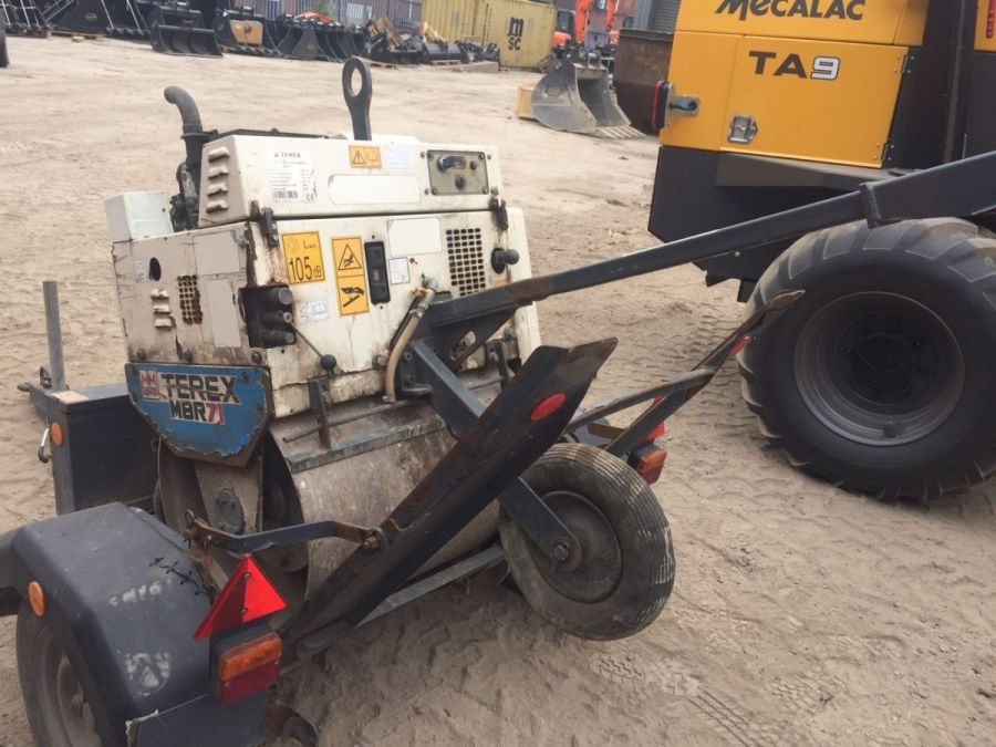 Used Roller 2015 Terex MBR71 & Trailer for Sale - 2