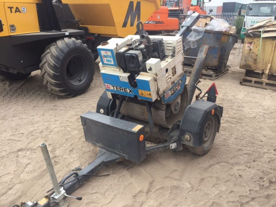 Used Roller 2015 Terex MBR71 & Trailer for Sale - 3