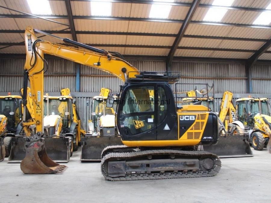 Used Excavator 2013 JCB JS 145 for Sale - 1