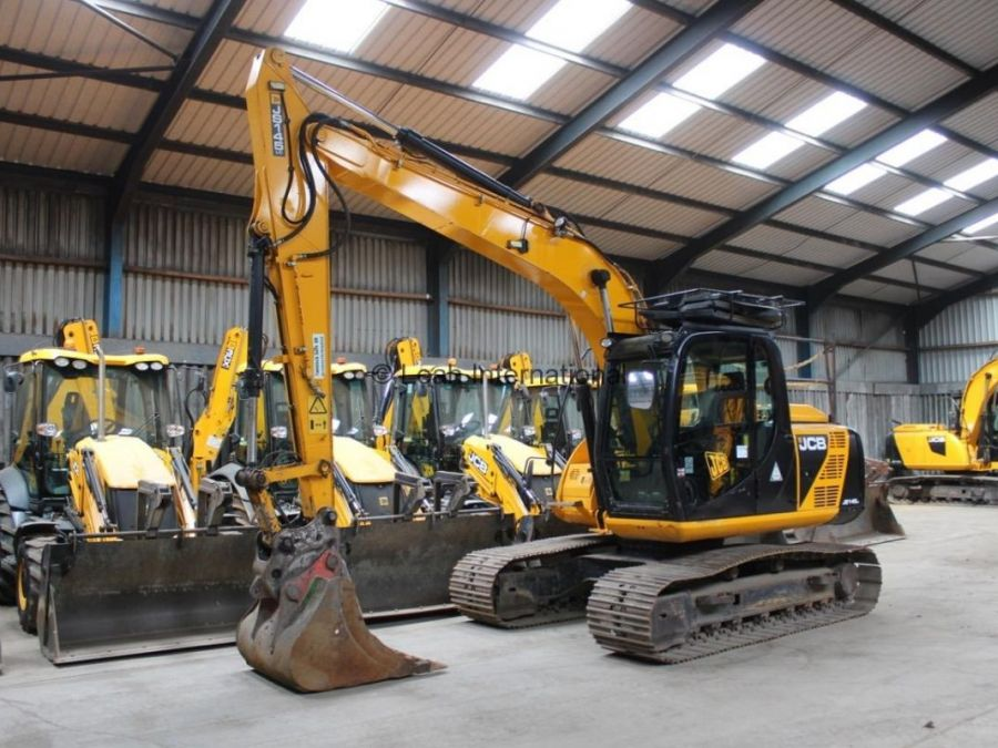 Used Excavator 2013 JCB JS 145 for Sale - 2