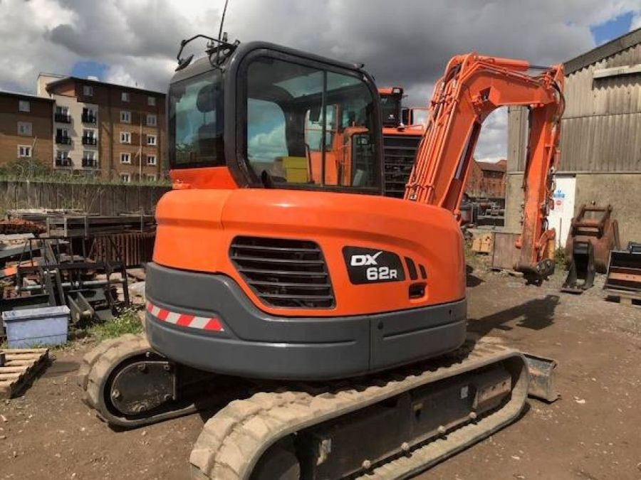Used Excavator 2012 Doosan DX60R for Sale - 1