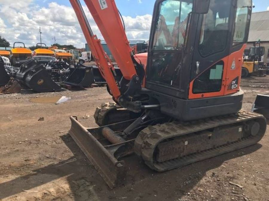 Used Excavator 2012 Doosan DX60R for Sale - 2