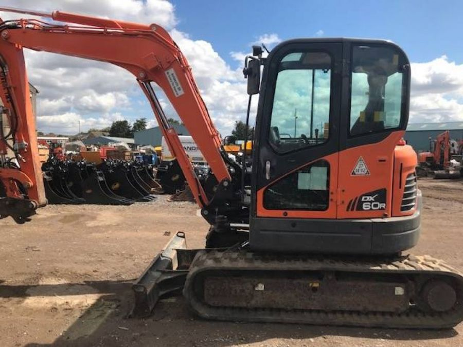 Used Excavator 2012 Doosan DX60R for Sale - 3