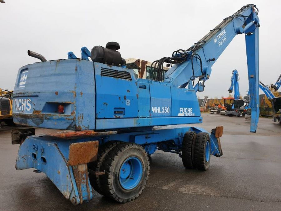 Used Material Handler 2004 Fuchs MHL350 for Sale - 3