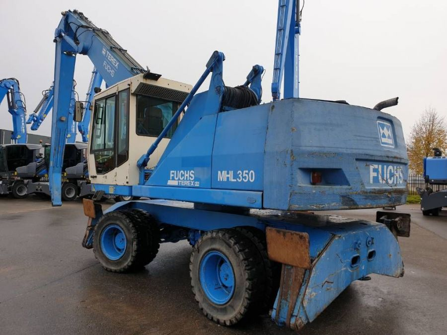 Used Material Handler 2004 Fuchs MHL350 for Sale - 1
