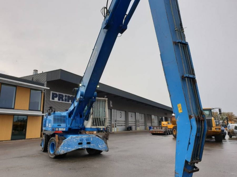 Used Material Handler 2004 Fuchs MHL350 for Sale - 5