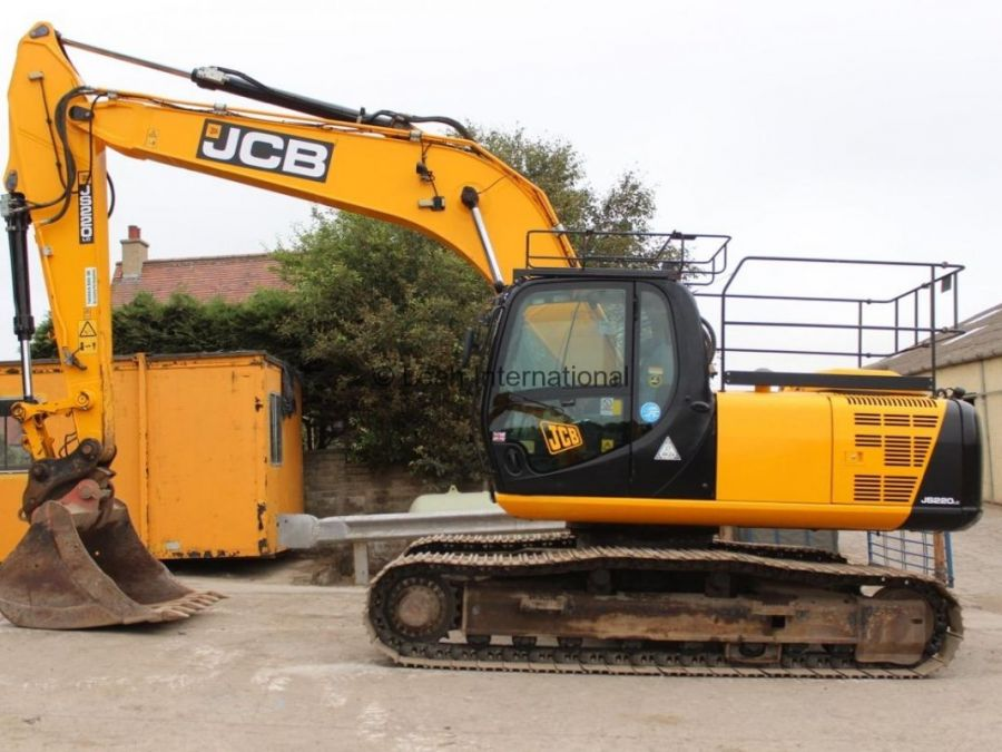 Used Excavator 2014 JCB JS 220 for Sale - 3 - Thumbnail