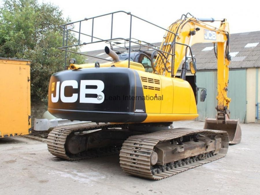Used Excavator 2014 JCB JS 220 for Sale - 2 - Thumbnail