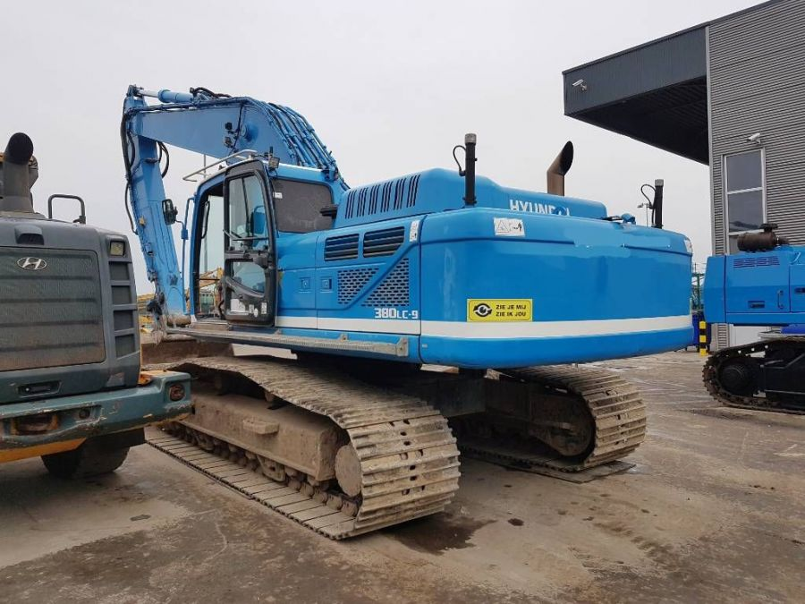 Used Excavator 2012 Hyundai Robex 380 LC-9 for Sale - 1