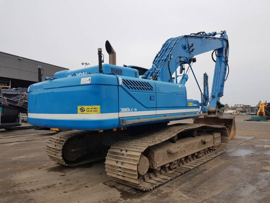 Used Excavator 2012 Hyundai Robex 380 LC-9 for Sale - 2