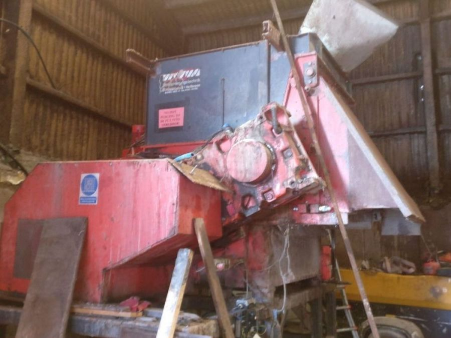 Used High Speed Shredder / Grinder 2010 Weima WLK15 90 for Sale - 1
