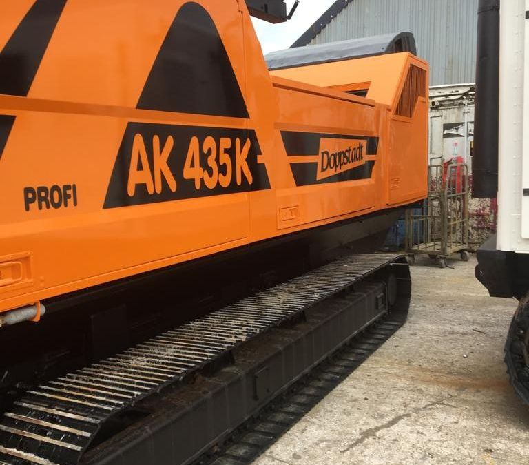Used High Speed Shredder / Grinder 2012 Doppstadt AK 435 K for Sale - 4