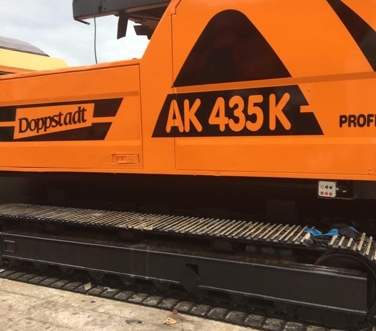 Used High Speed Shredder / Grinder 2012 Doppstadt AK 435 K for Sale - 5