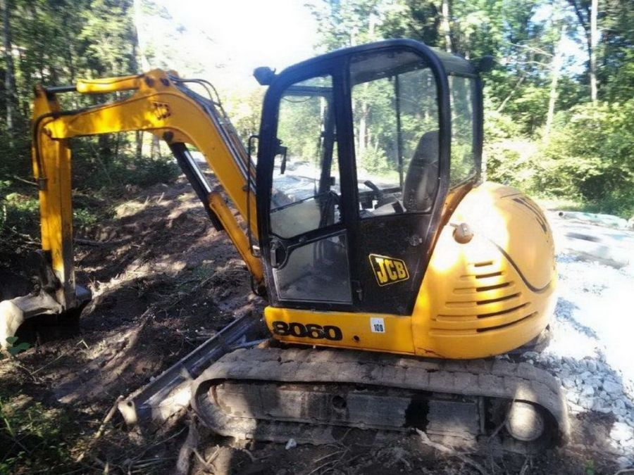 Used Excavator 2001 JCB 8060 for Sale - 3 - Thumbnail