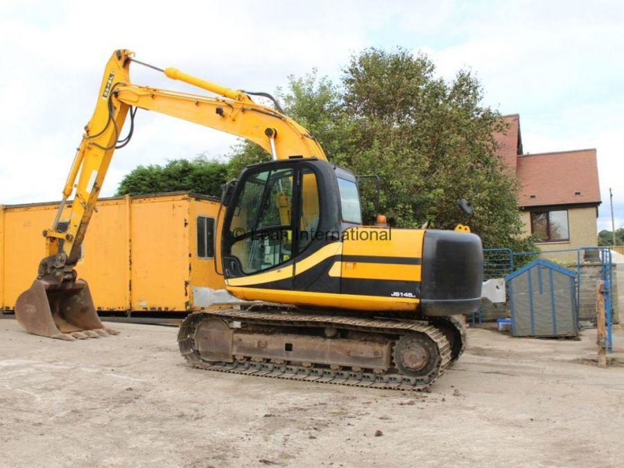 Used Excavator 2007 JCB JS 145 for Sale - 3 - Thumbnail