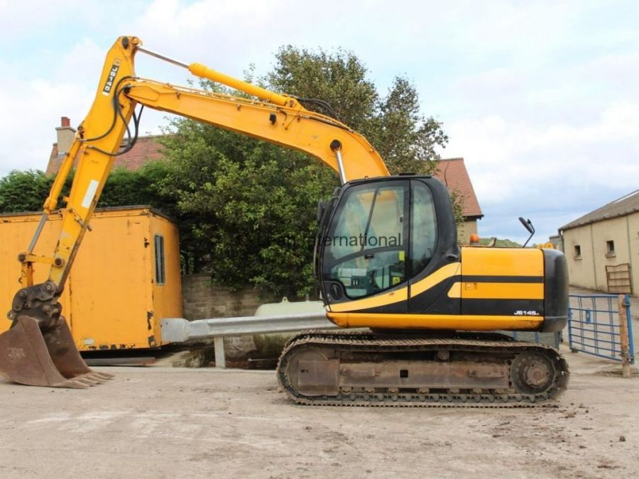Used Excavator 2007 JCB JS 145 for Sale - 1 - Thumbnail