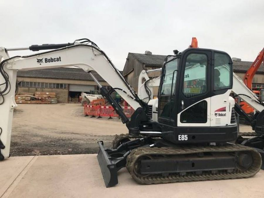 Used Excavator 2018 Bobcat E85 for Sale - 1