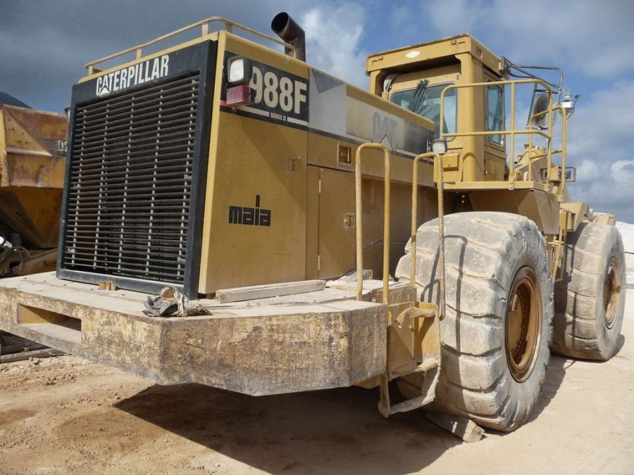 Used Wheel Loader 1996 Caterpillar 988F for Sale - 4