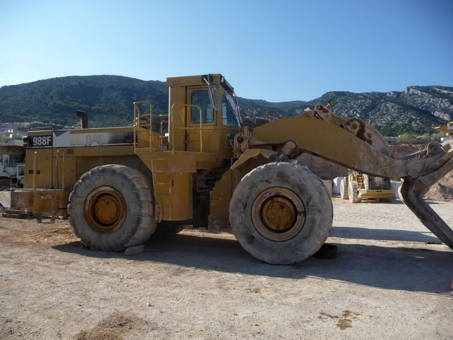 Used Wheel Loader 1996 Caterpillar 988F for Sale - 5